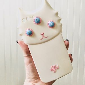 VALFRÉ Blanco 3D Three-Eyed Cat IPhone 7+/8+ Case